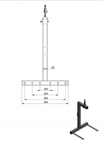 HRH-K - kranbasierter Rollenheber, Zeichnung 1